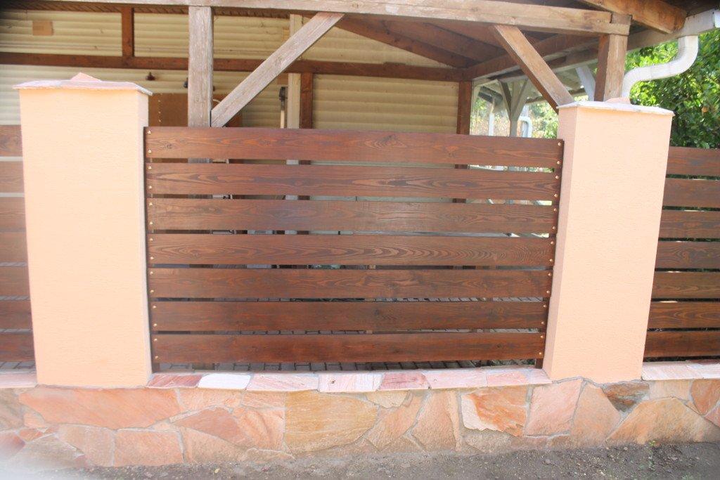 Kerítés deszka